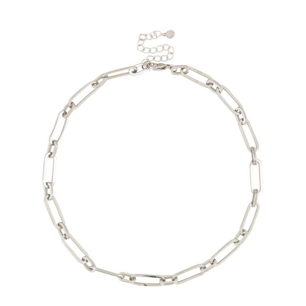 My Jewellery schakelketting MJ03968 zilverkleurig, Zilverkleurig