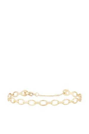schakelarmband MJ02922 goudkleurig