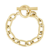 My Jewellery schakelarmband MJ00826 goudkleurig, Goudkleurig