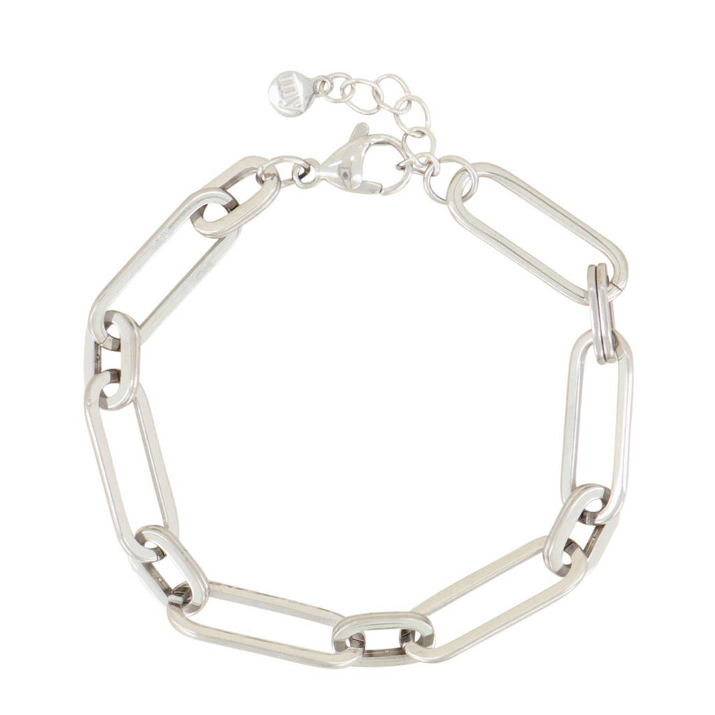 My Jewellery schakelarmband MJ03969 zilverkleurig, Zilverkleurig