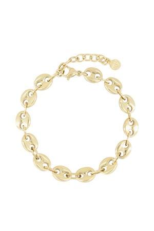 armband MJ03024 goudkleurig