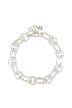 schakelarmband MJ03973 zilverkleurig