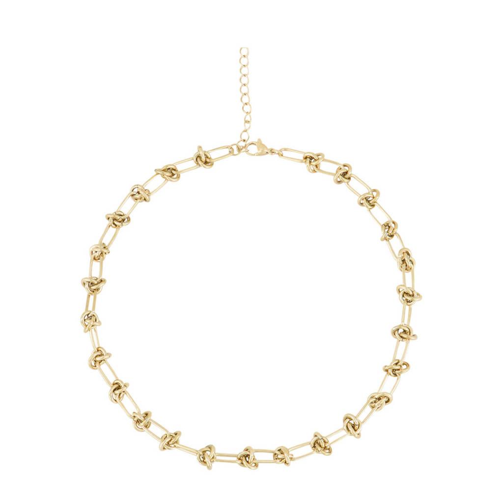 My Jewellery schakelketting MJ03128 goudkleurig, Goudkleurig