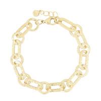 My Jewellery schakelarmband MJ03973 goudkleurig, Goudkleurig