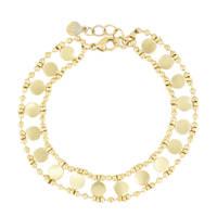 My Jewellery armband met muntjes MJ03294 goudkleurig, Goudkleurig