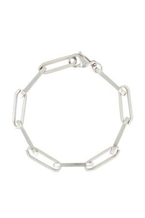schakelarmband MJ02902 zilverkleurig