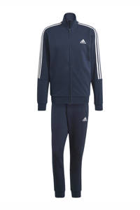 adidas Performance   trainingspak donkerblauw/wit, Donkerblauw/wit