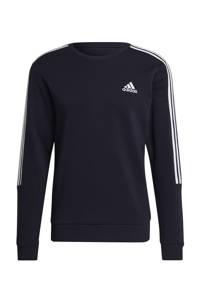 adidas Performance   sportsweater donkerblauw/wit, Donkerblauw/wit