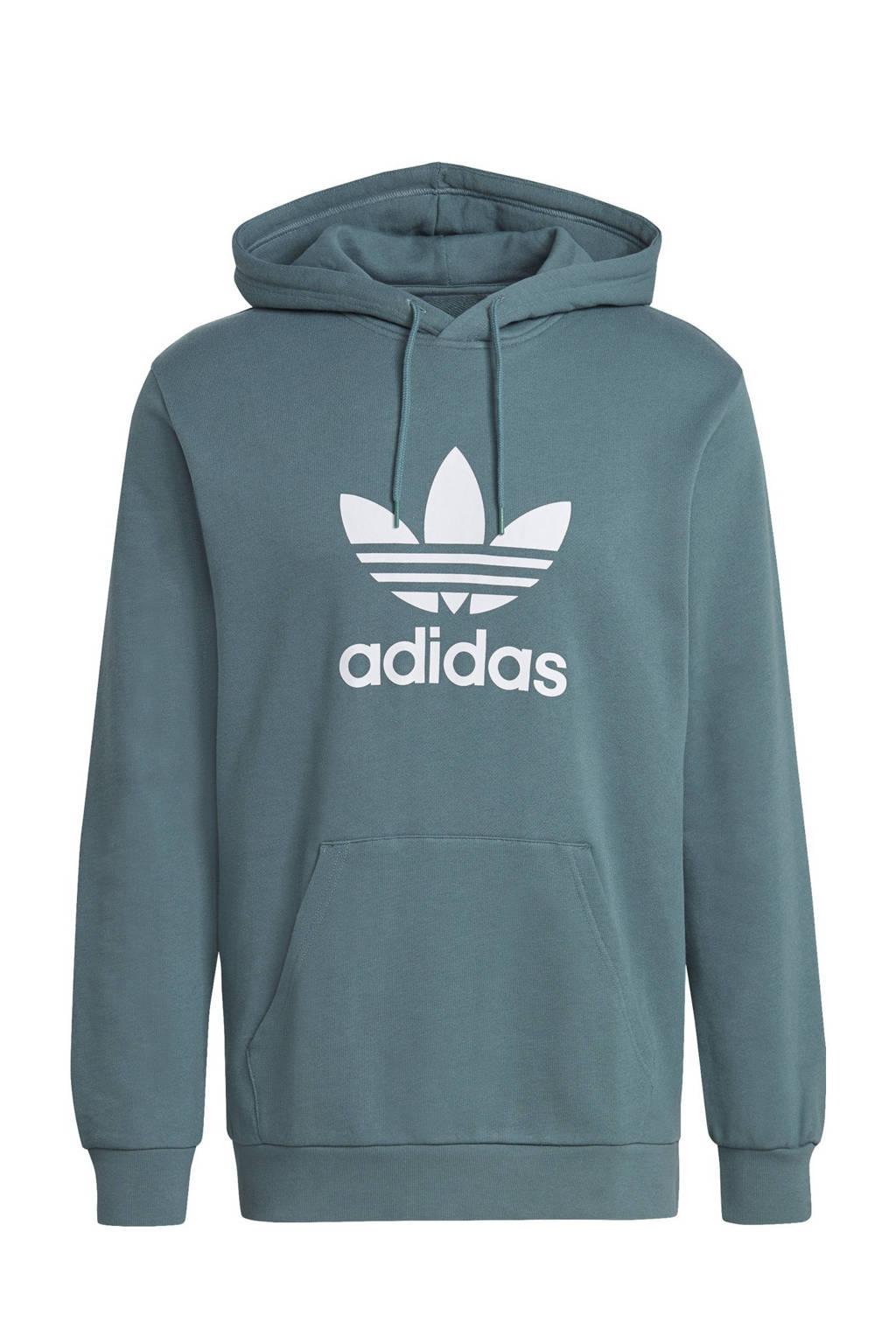 adidas Originals Adicolor hoodie petrol, Petrol