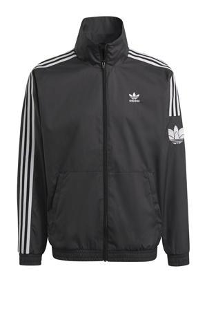 Adicolor vest zwart/wit