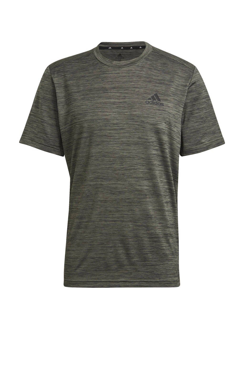 adidas Performance   Designed2Move sport T-shirt kaki, Kaki