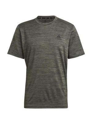 Designed2Move sport T-shirt kaki