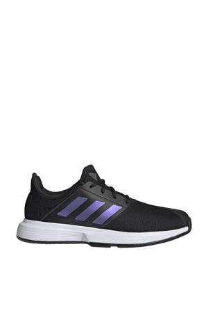 GameCourt M tennisschoenen zwart/blauw/wit
