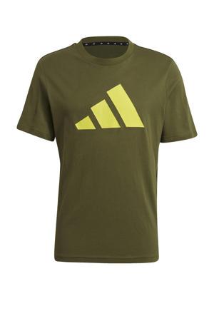 sport T-shirt kaki