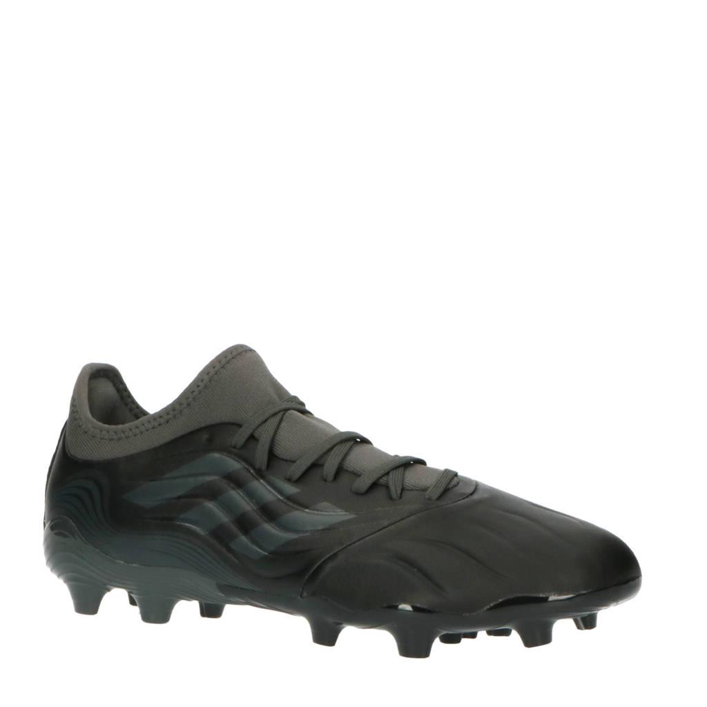 adidas Performance Copa Sense.3 FG Sr. voetbalschoenen zwart/grijs, Zwart/grijs