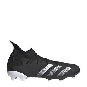 Predator Freak.3 FG Sr. voetbalschoenen zwart/wit