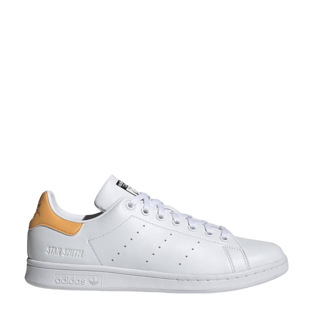 adidas Originals Stan Smith  sneakers wit/zacht oranje/zwart