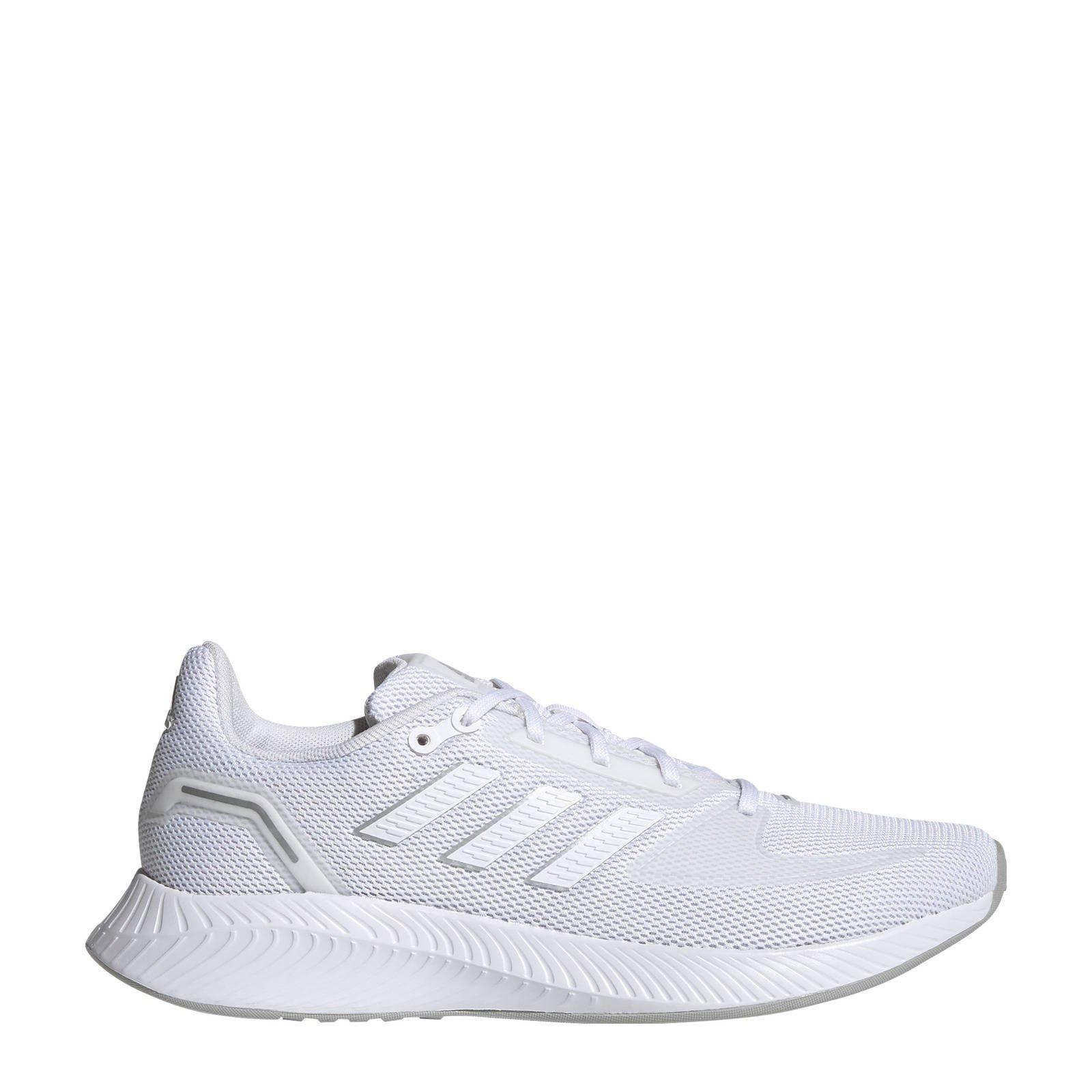 Adidas Performance Runfalcon 2.0 hardloopschoenen wit/zilver online kopen