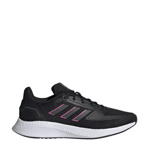 Runfalcon 2.0 hardloopschoenen zwart/grijs/roze