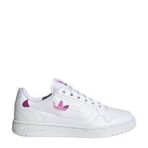 NY 92  sneakers wit/mauve/roze