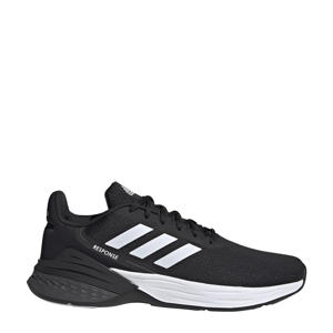 Response  hardloopschoenen zwart/wit/grijs