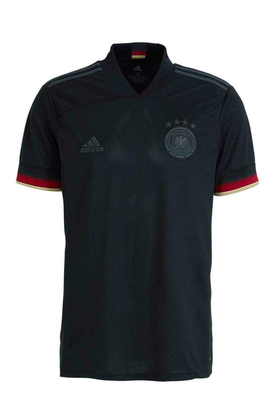 adidas Performance  Duitsland voetbalshirt uit zwart/antraciet, Zwart/antraciet