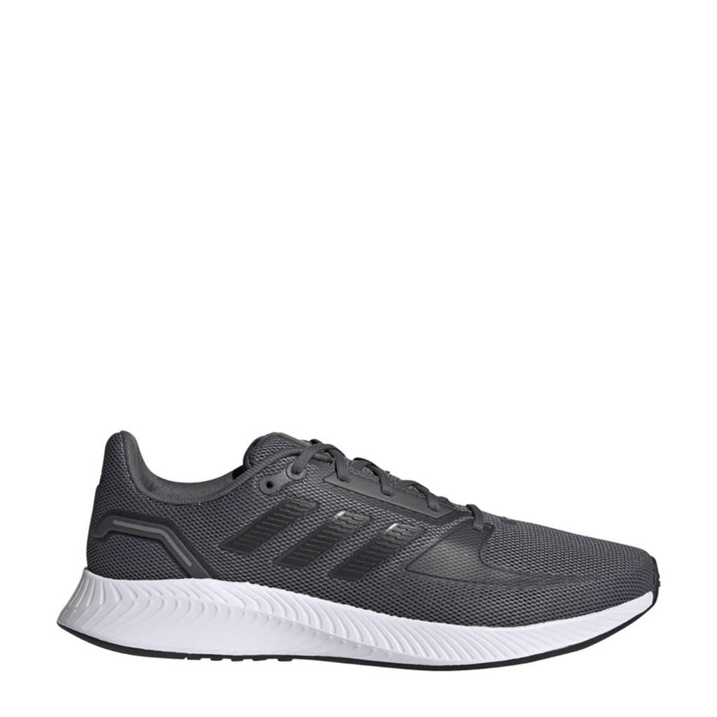 adidas Performance Runfalcon 2.0 hardloopschoenen grijs/zwart/grijs