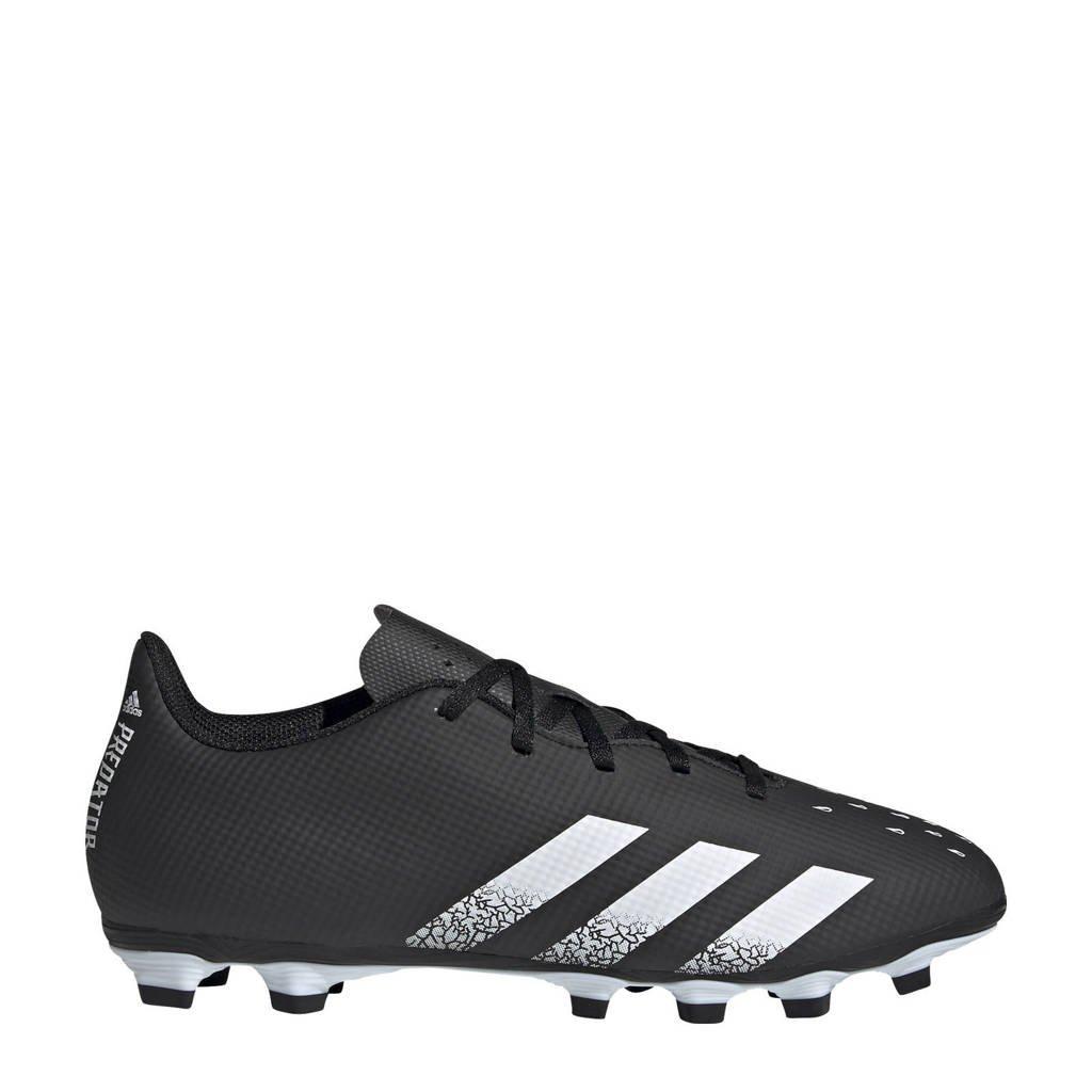 adidas Performance Predator Freak.4 FG Sr. voetbalschoenen zwart/wit, Zwart/wit