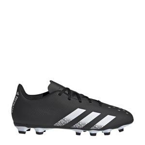 Predator Freak.4 FG Sr. voetbalschoenen zwart/wit