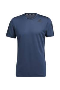 adidas Performance   Designed4Training sport T-shirt donkerblauw, Donkerblauw