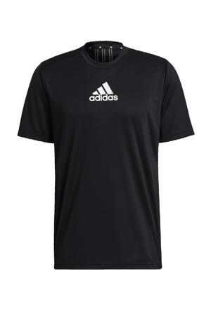 Designed2Move sport T-shirt zwart/wit