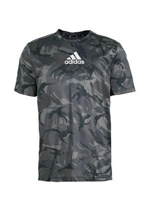 Designed2Move sport T-shirt grijs