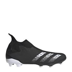 Sr. voetbalschoenen zwart/wit