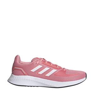 Runfalcon 2.0 hardloopschoenen roze/wit/rood