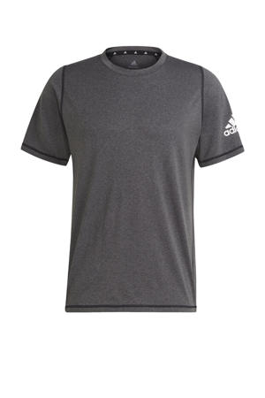 Designed2Move sport T-shirt zwart melange