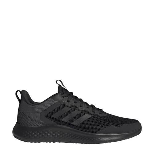 adidas Performance Fluidstreet hardloopschoenen zwart/grijs
