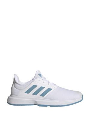 GameCourt M tennisschoenen wit/kobaltblauw/lichtblauw