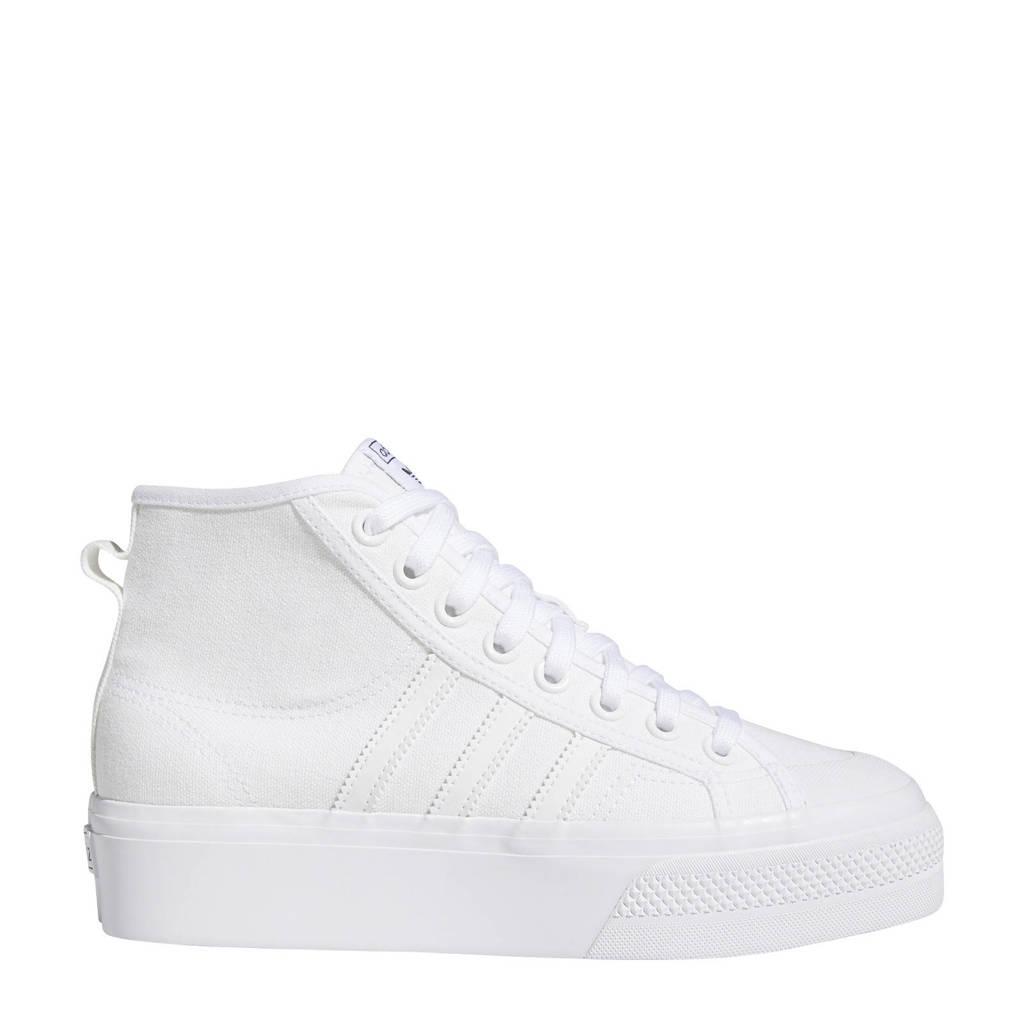adidas Originals Nizza  sneakers wit, Wit