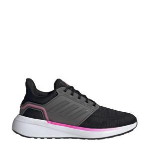EQ 19  hardloopschoenen zwart/grijs/roze