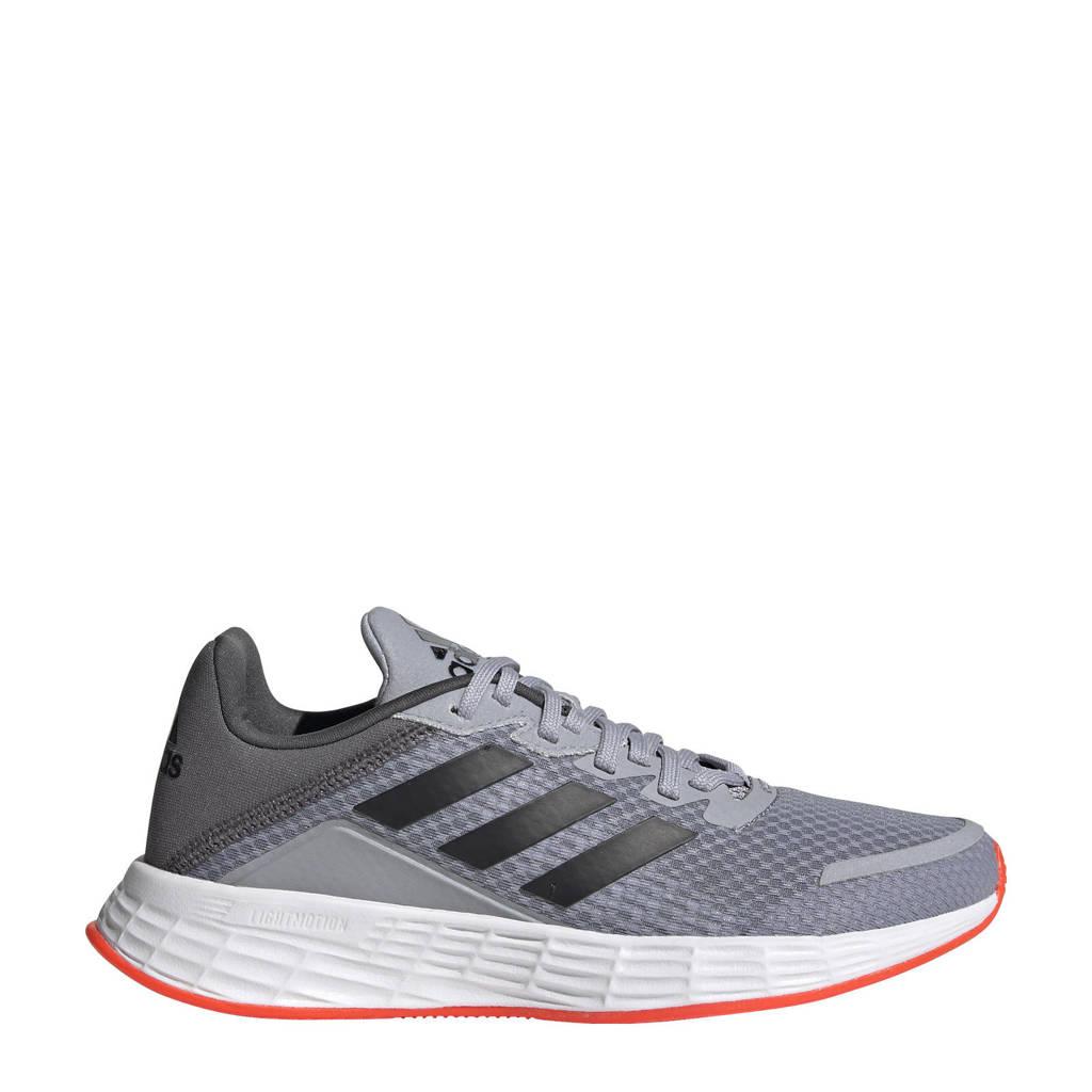 adidas Performance Duramo SL  hardloopschoenen zilver/zwart/rood kids, Zilver/zwart/rood