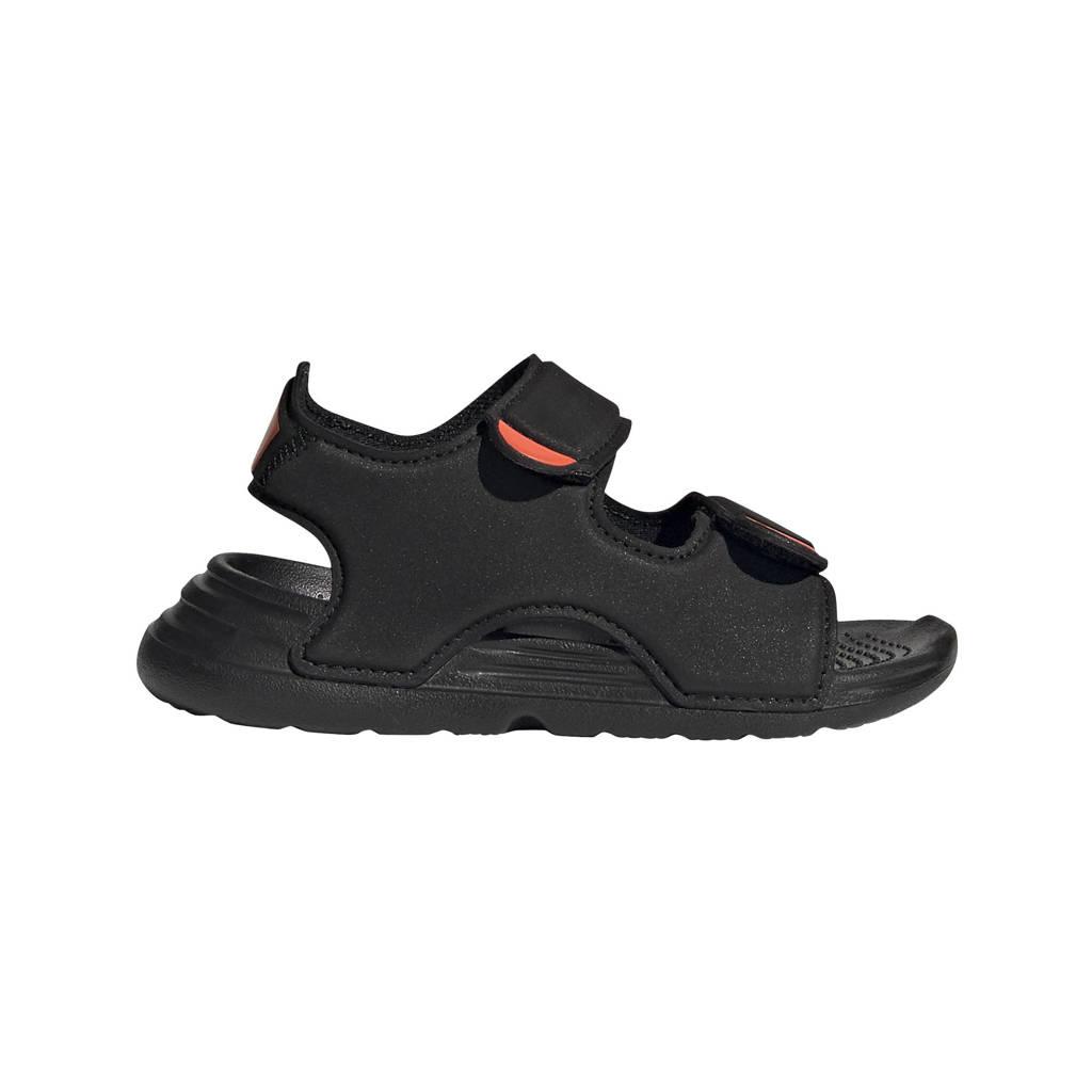 adidas Performance   waterschoenen zwart kids, Zwart
