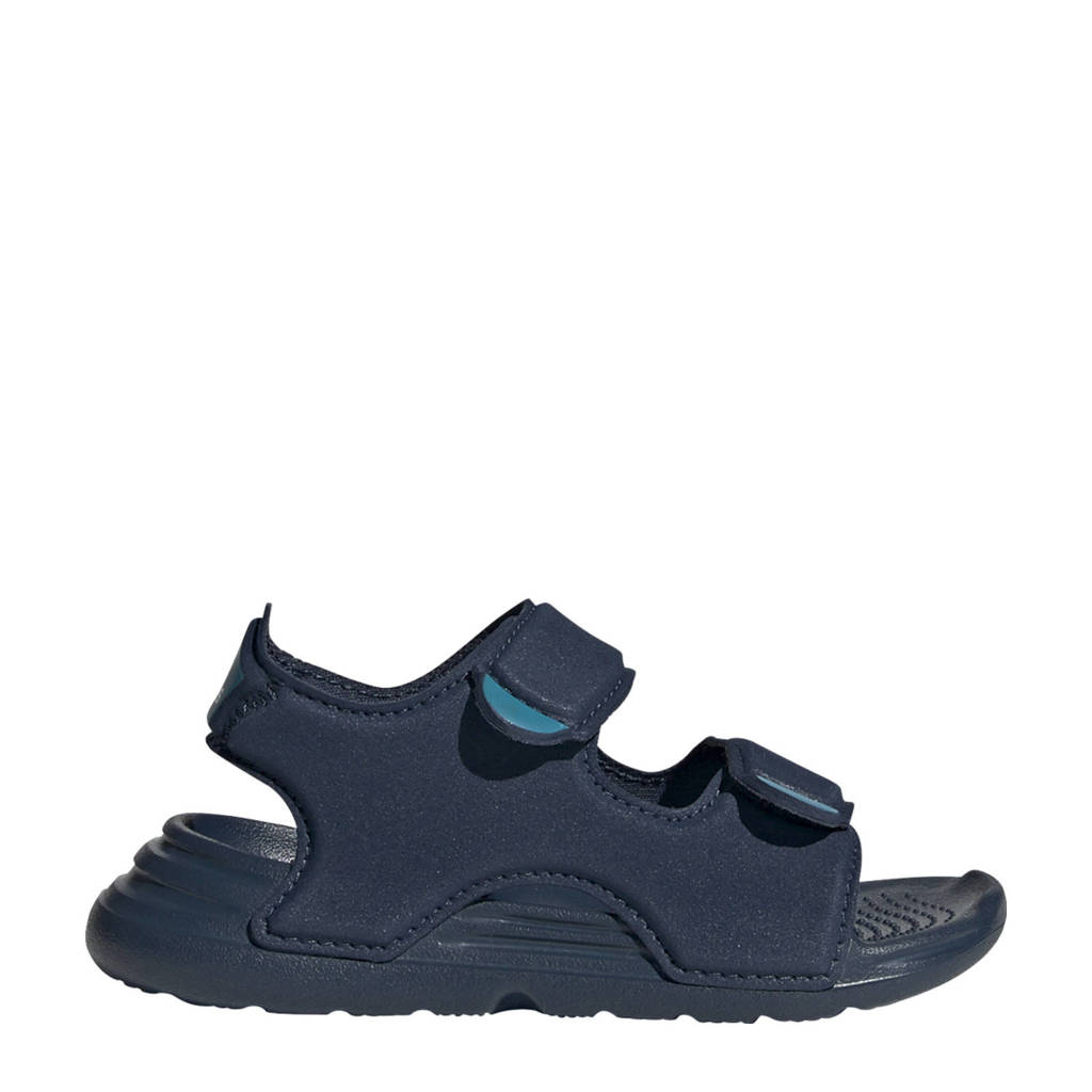 adidas Performance   waterschoenen donkerblauw/wit kids, Donkerblauw/wit