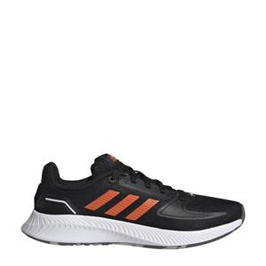 Runfalcon 2.0 Classic sneakers zwart/oranje/wit kids