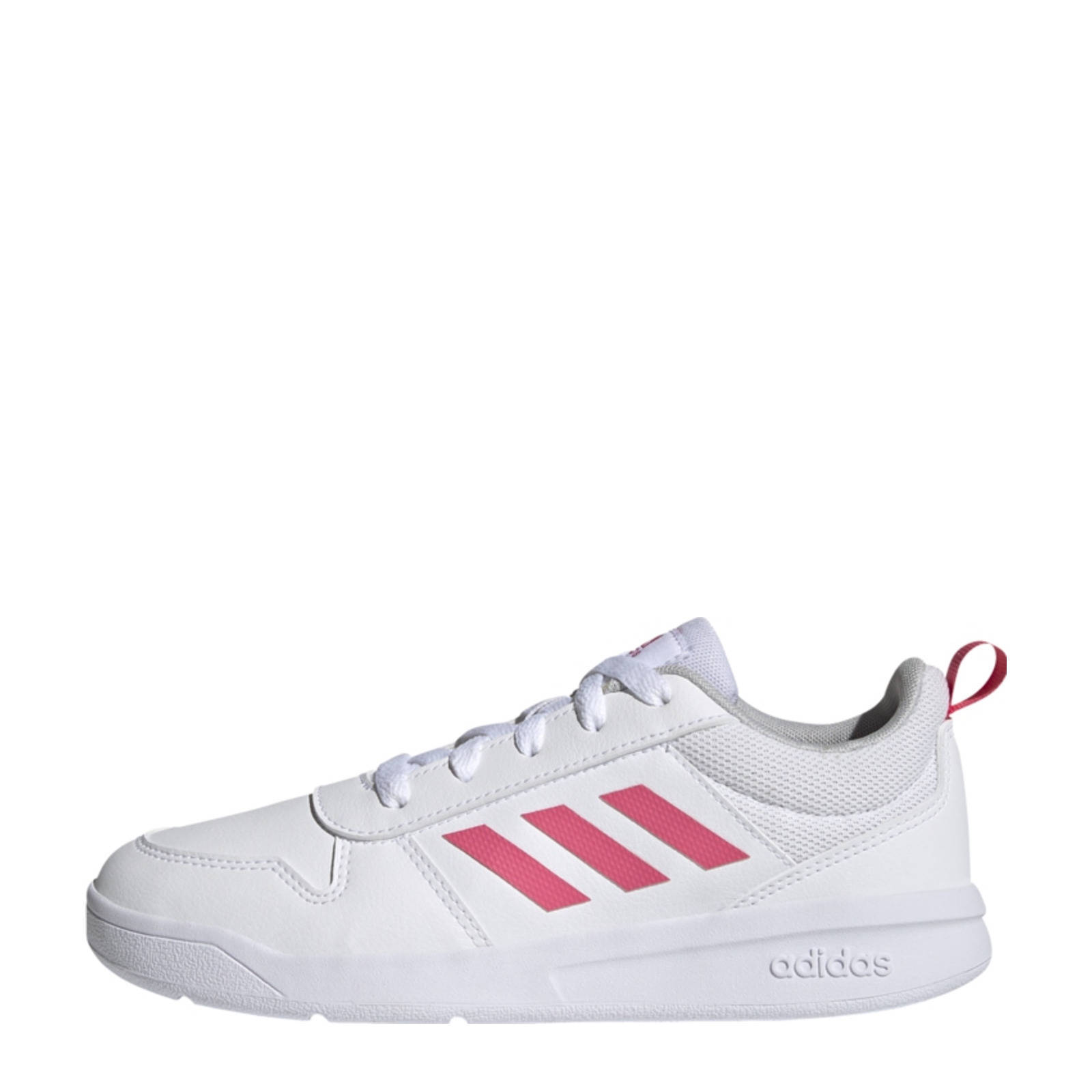 Adidas Performance Tensaur K hardloopschoenen wit/roze kids online kopen