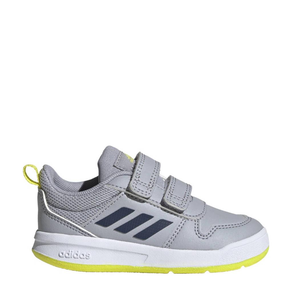 adidas Performance Tensaur I sportschoenen zilvergrijs/blauw/geel kids