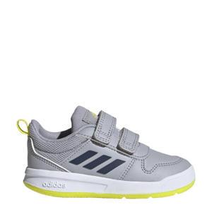Tensaur I sportschoenen zilvergrijs/blauw/geel kids