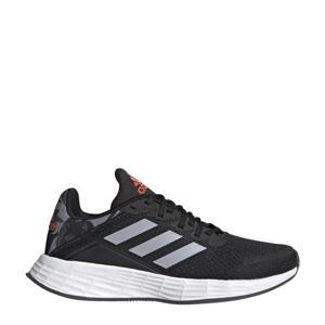 Duramo SL  hardloopschoenen zwart/zilver/rood kids