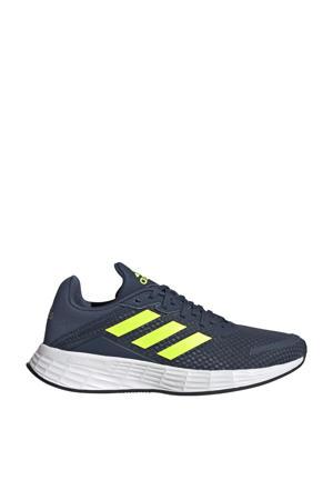 Duramo SL  hardloopschoenen donkerblauw/geel/zilver kids