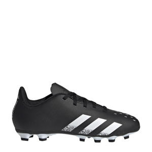 Predator Freak.4 FG Jr. voetbalschoenen zwart/wit