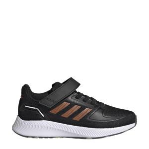 Runfalcon 2.0 Classic hardloopschoenen zwart/oranje/wit kids